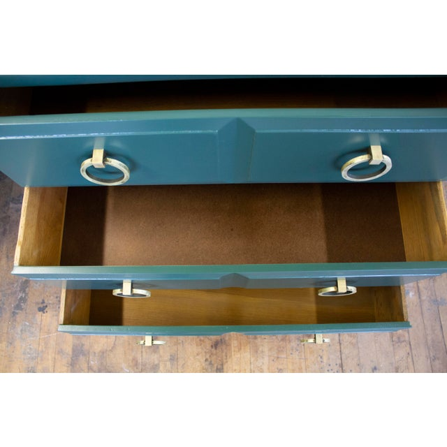 1960s Pair of Chest Dressers by t.h. Robsjohn-Gibbings for Widdicomb For Sale - Image 5 of 9