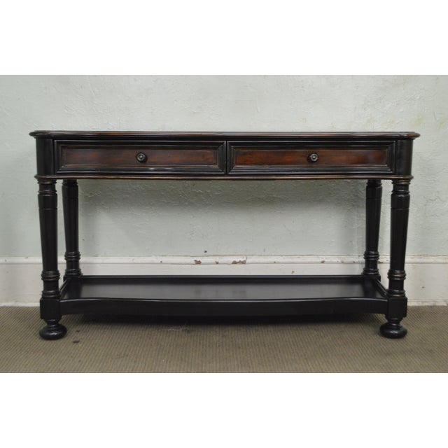 d37b2af3713152 STORE ITEM #: 15581 Hooker Furniture Seven Seas Paint Decorated Console  Table AGE/COUNTRY. Traditional ...