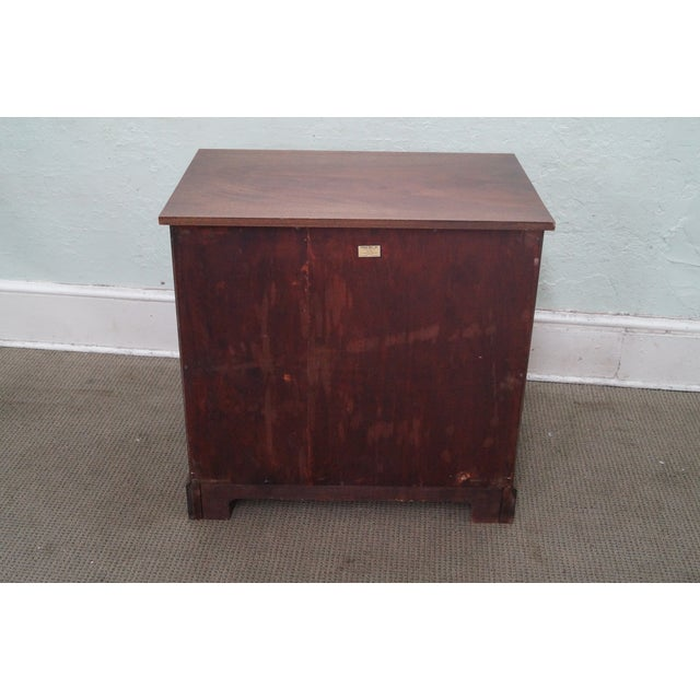 Potthast Solid Mahogany Inlaid Chippendale Chest - Image 4 of 10