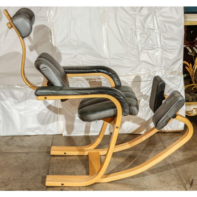 1970s Stokke Rocking Chair For Sale - Image 5 of 10