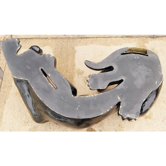 1970's Black Panther Coffee Table Base For Sale - Image 4 of 13