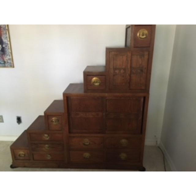 Korean Tansu Step Chest For Sale - Image 4 of 5