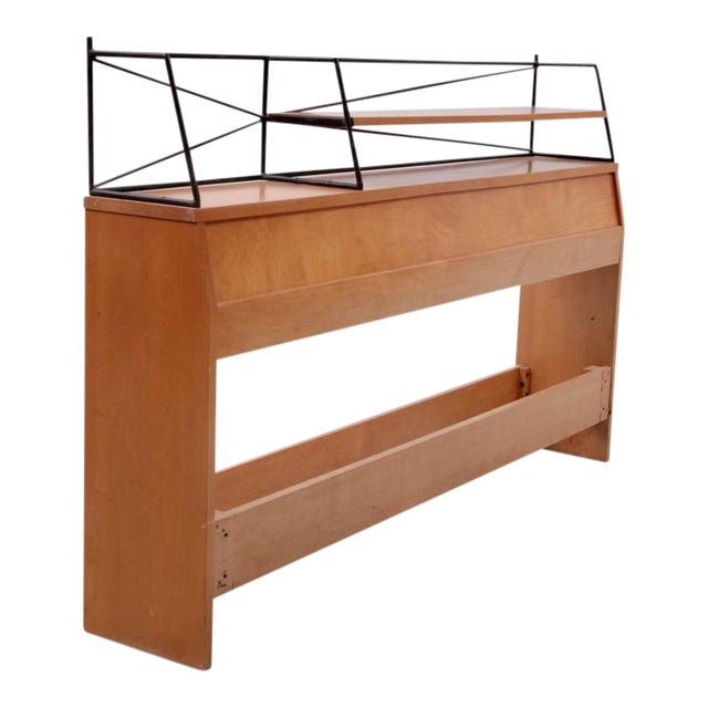 """Paul McCobb Wrought Iron """"Planner Group"""" Headboard for Winchendon For Sale"""