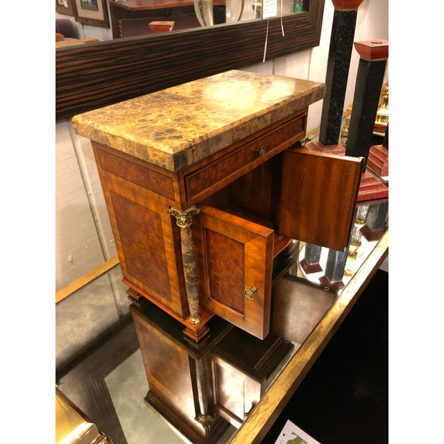 Metal Vintage Neoclassical Credenza Tabletop Treasure Box For Sale - Image 7 of 12
