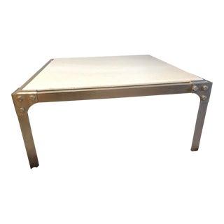 vintage used marble coffee tables chairish. Black Bedroom Furniture Sets. Home Design Ideas