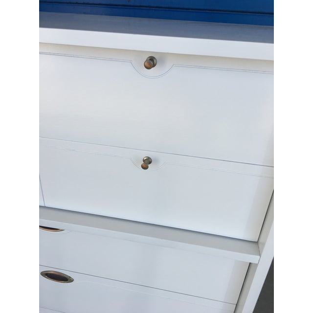 Hooker Mid-Century Lacquered White Chest - Image 5 of 8