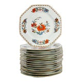 Image of 1980s Limoges Vieux Chine Salad Plates, Set of 15 For Sale