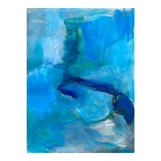 """""""Wild Surf"""" by Trixie Pitts Abstract Expressionist Oil Painting For Sale"""
