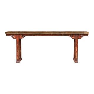 Gorgeous Antique Asian Altar Table For Sale