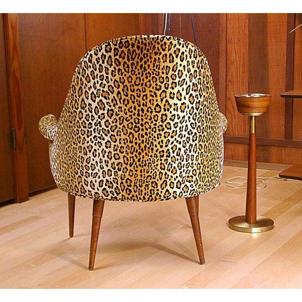 Sculptural Mid Century Danish Modern Chair - Image 4 of 9