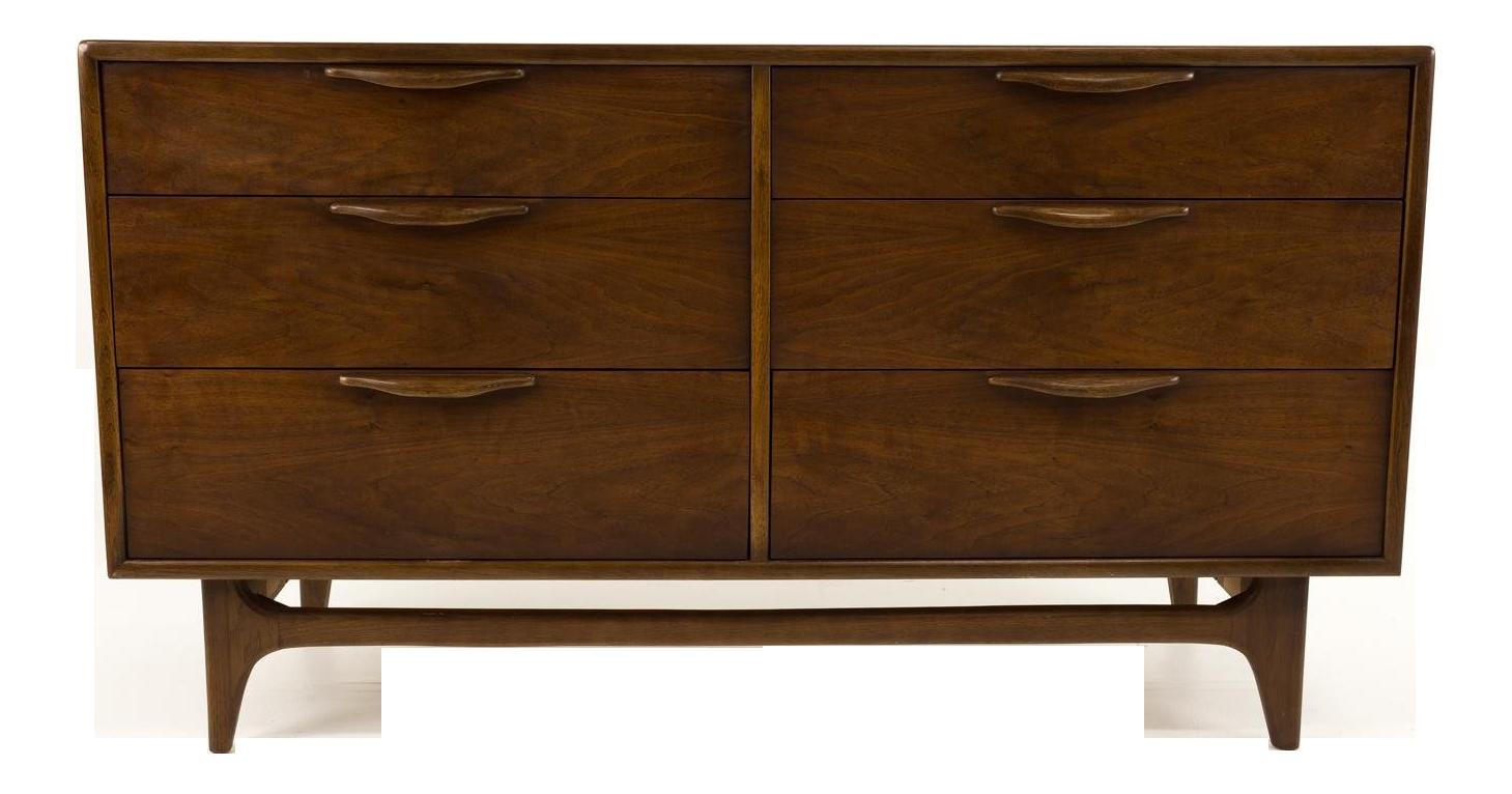 Lane Perception 6 Drawer Lowboy Dresser