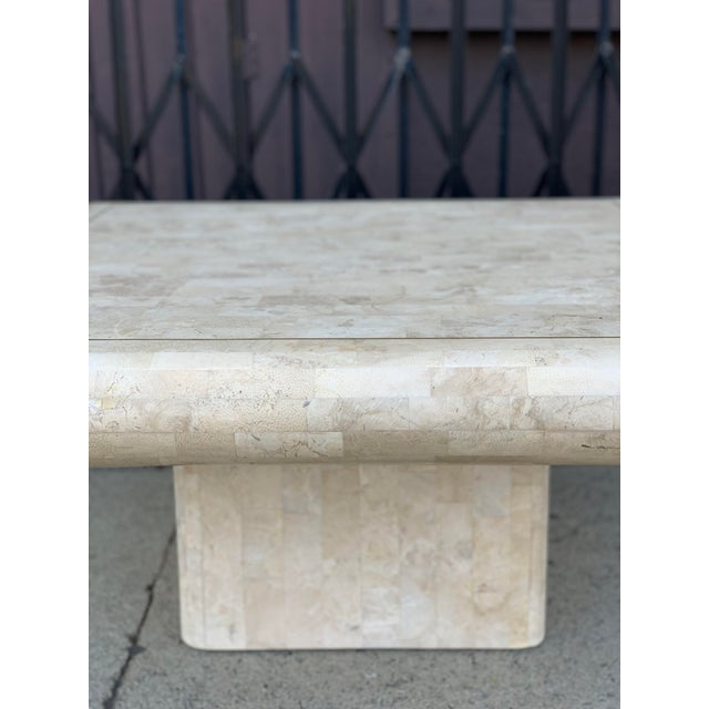 Tessellated Stone Tile Coffee Table For Sale - Image 11 of 12