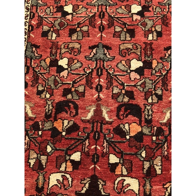 """Islamic 1960's Vintage Persian Hamadan Thick & Heavy Runner 3'3""""x9'4"""" For Sale - Image 3 of 13"""