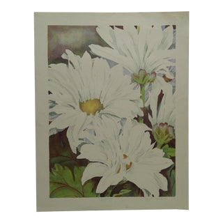 """Limited Edition """"Daisy Mums"""" Signed Numbered (72/100) Print by Bukonik"""