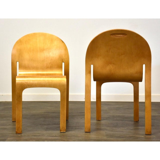 Modern Peter Danko Free Form Dining Chair For Sale - Image 3 of 10