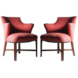 Syrie Maugham Armchairs - 4 Chairs Available - Hollywood Regency For Sale