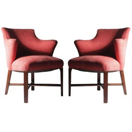 Image of Hollywood Regency Accent Chairs