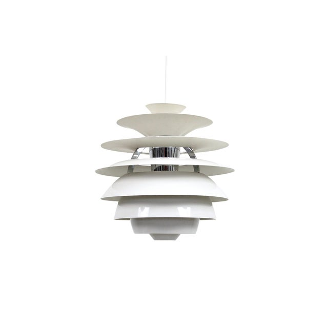 Poul Henningsen Snowball Pendant For Sale - Image 13 of 13