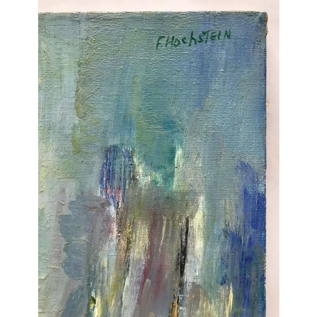 Mid-Century Modern Abstracted Seascape For Sale In Atlanta - Image 6 of 10