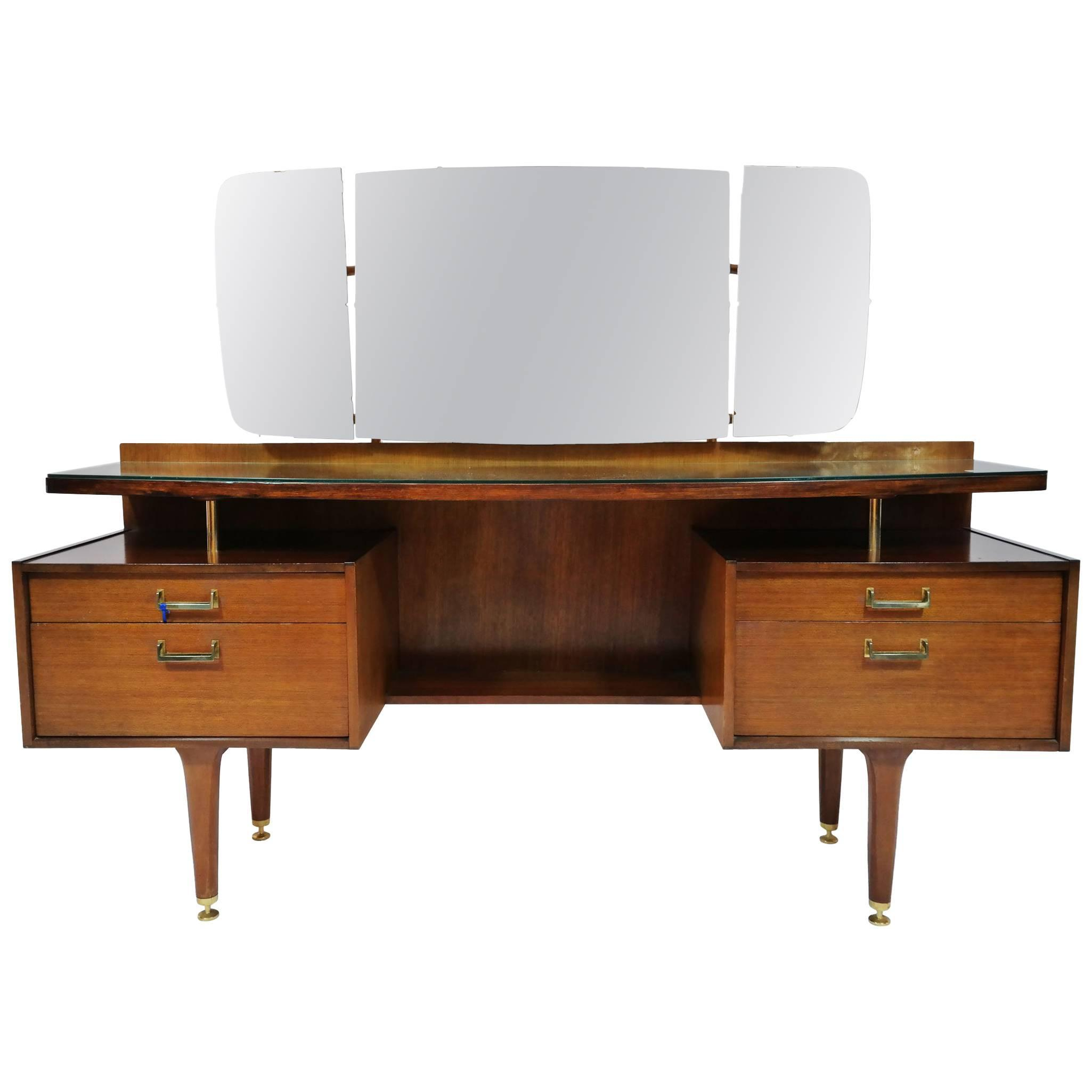 1960s G Plan English Mid Century Modern Vanity Dressing Table Chairish