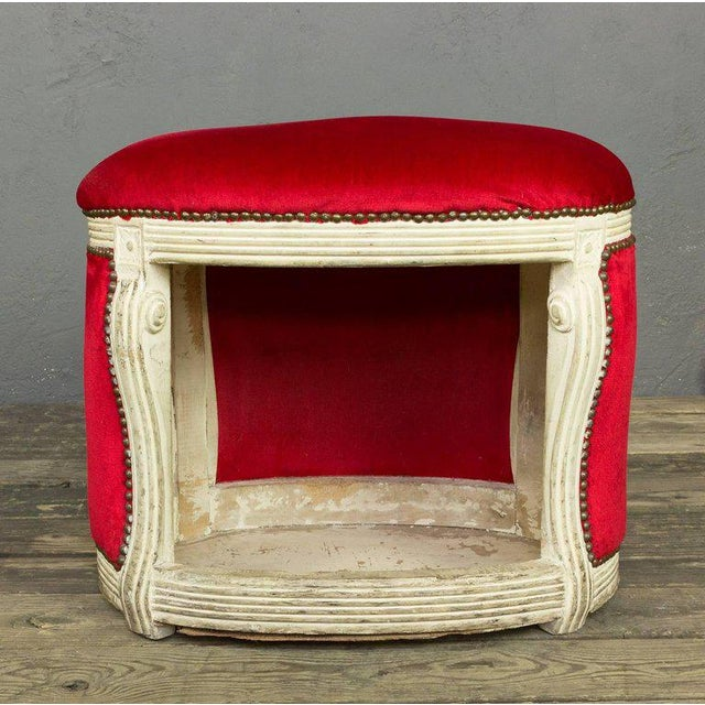 20th Century, French Footstool with Built in Dog Bed - Image 7 of 9