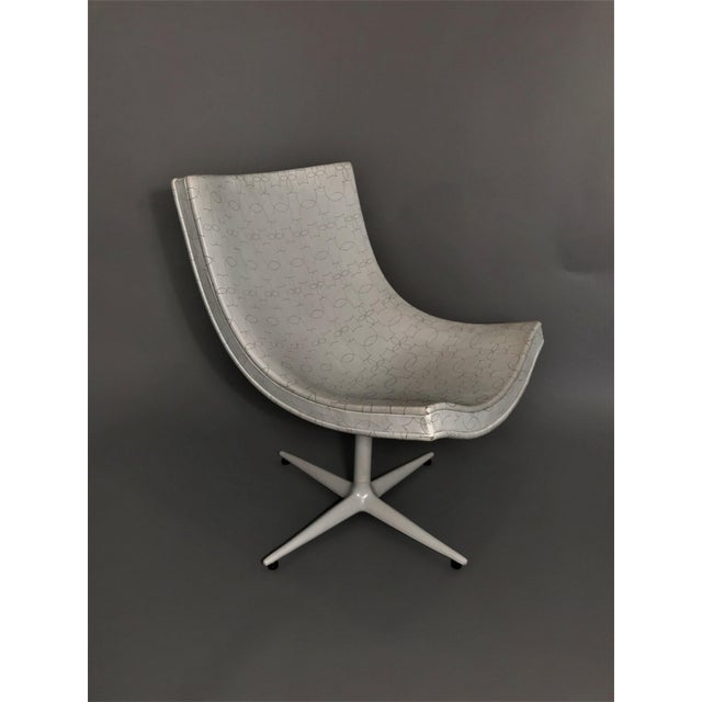 Leather Y's Mickey Swivel Chair For Sale - Image 7 of 7