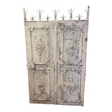 Image of 1880s Vintage French Decorative Garden Gate For Sale