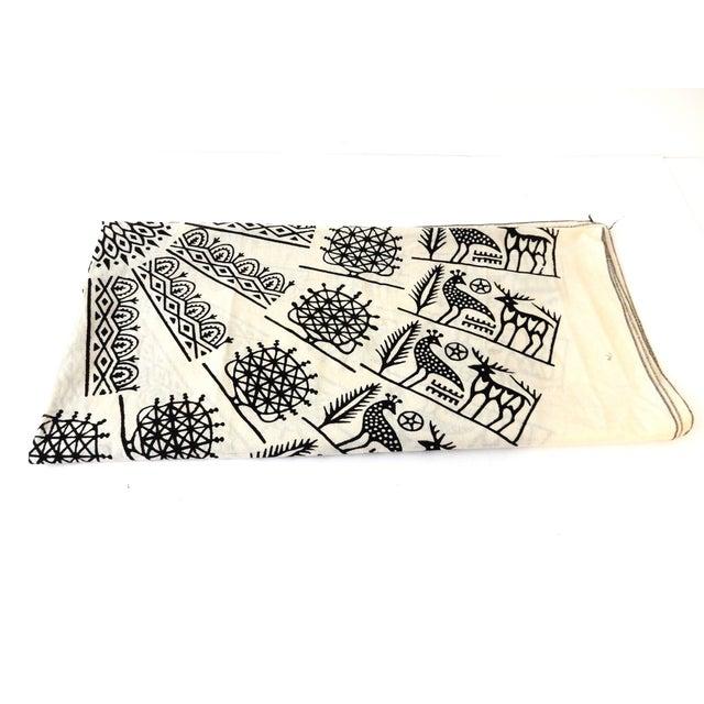 Turkish Cloth Tokat Yazma Throw or Tablecloth - Image 4 of 5