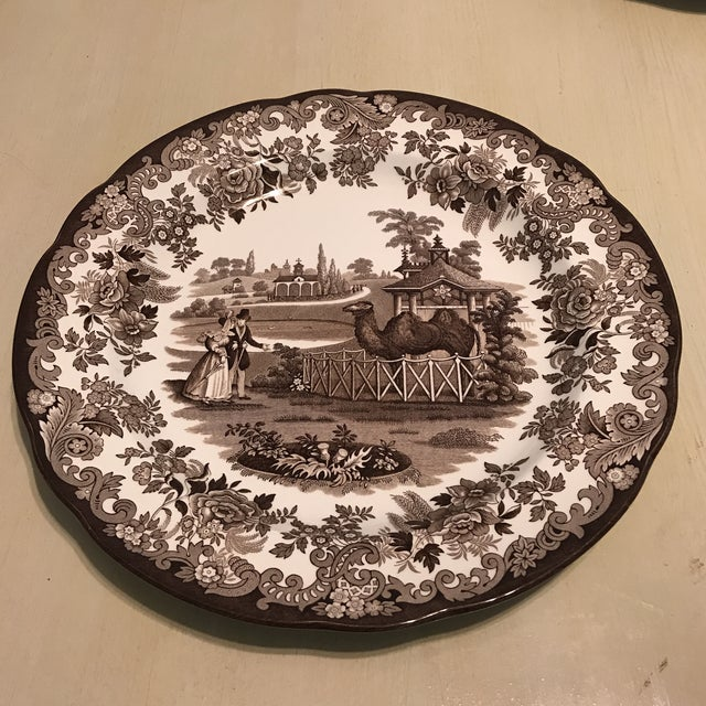 Traditional The Spode Archive Collection Plates - Set of 6 For Sale - Image 3 of 10