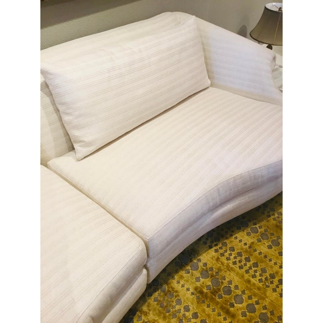 Caracole Caracole Modern Two Piece Roll Model Sofa For Sale - Image 4 of 6