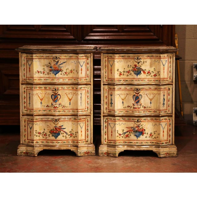Place this pair of antique bedside tables on either side of a king size bed for extra storage space in your bedroom....