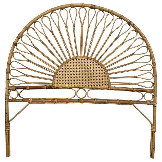 Mid-Century Modern Bamboo and Bentwood Headboard For Sale - Image 11 of 11
