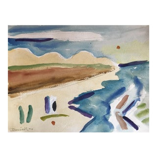 George Daniell (1911-2002) Abstracted Landscape