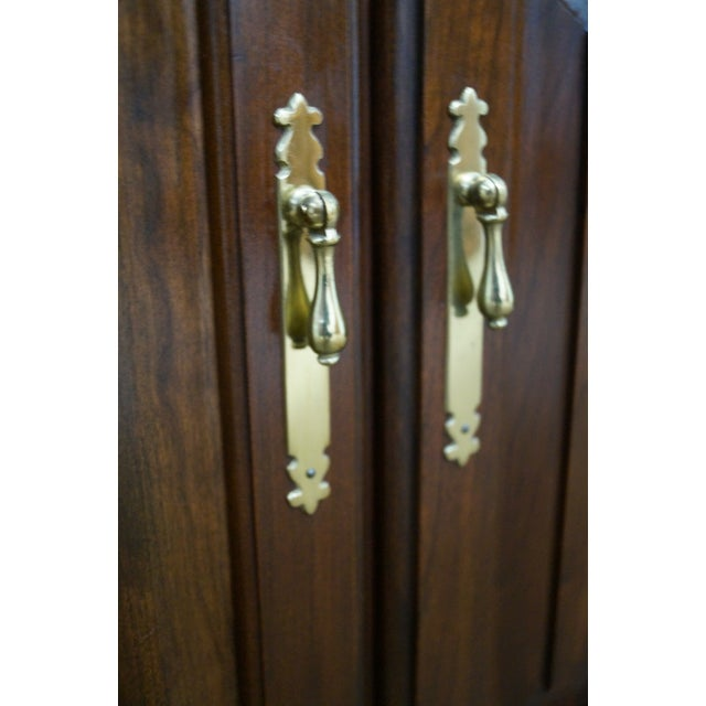 Harden Solid Cherry Chippendale China Cabinet - Image 8 of 10