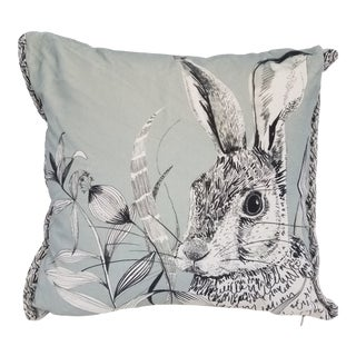 Rabbit Hare Pillow - Made in Wales, United Kingdom For Sale