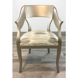Caracole Couture Modern Bank of England Chairs Pair Preview
