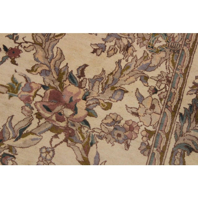 1970s Victorian Basan Pak-Persian Rossana Wool Rug - 8′5″ × 10′ For Sale - Image 5 of 9