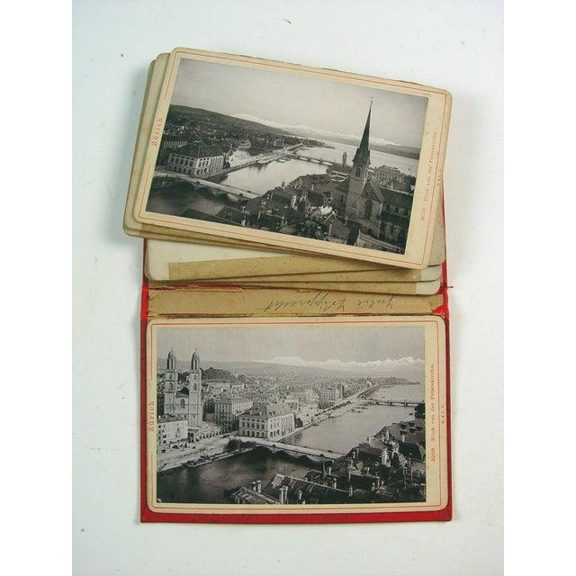 Grand Tour Zurich Switzerland Photo Book, 1896 For Sale - Image 3 of 4