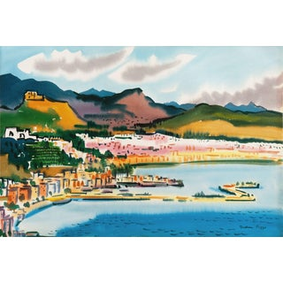 'Northern California Bay', by Nadine Pizzo, Legion of Honor, Ggie, Woman Artist, Circa 1960 For Sale