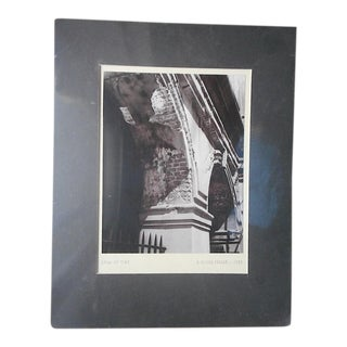 "Original Vintage Mid 20th Century Signed/Dated Ltd. Edition Fine Art Photograph-""Span of Time""-J. Oliver Yeakle For Sale"