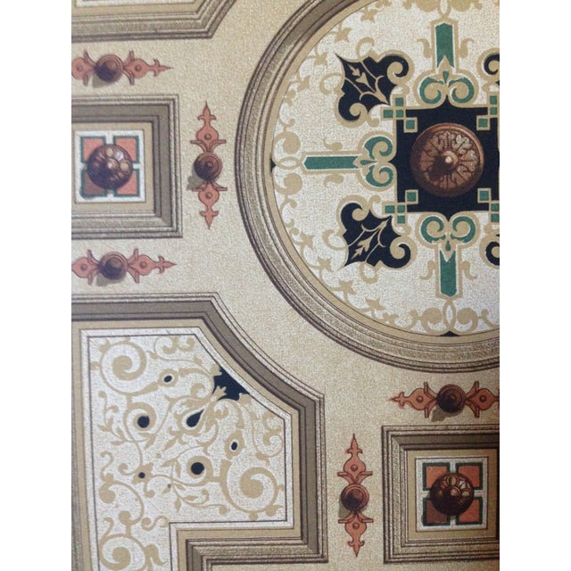 German Decorative Ceiling Print - Image 5 of 5