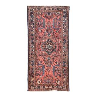 1920s Vintage Persian Lilihan Rug For Sale