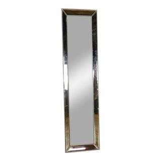 Modern Restoration Hardware Floor Mirror For Sale