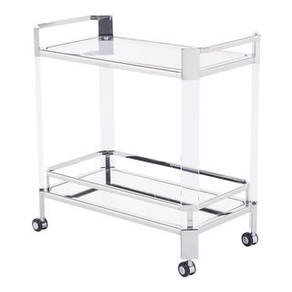 Blink Home Silver Bar Trolley For Sale