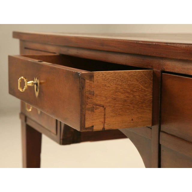Antique French Mahogany Desk For Sale - Image 9 of 11