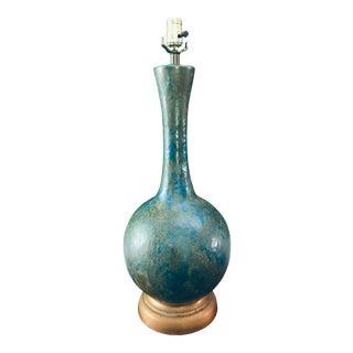 Mid Century Lamp Craft Glaze Raymor Style Large For Sale