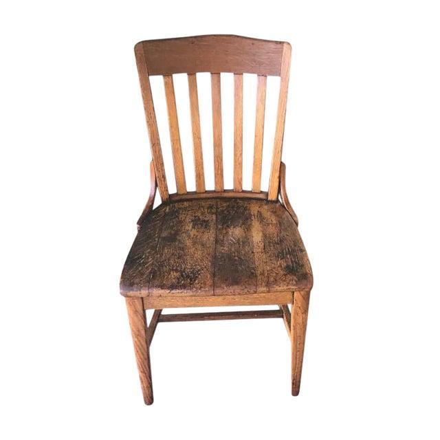 beechwood vintage schoolhouse chair chairish