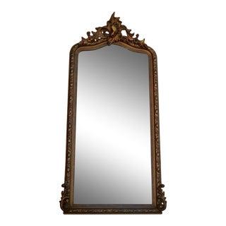 19th Century Gold Gilt Wall Mirror Pier Mirror For Sale