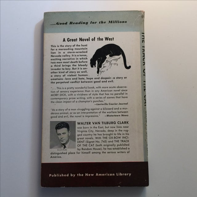 Contemporary The Track of the Cat 1950 First Edition For Sale - Image 3 of 4