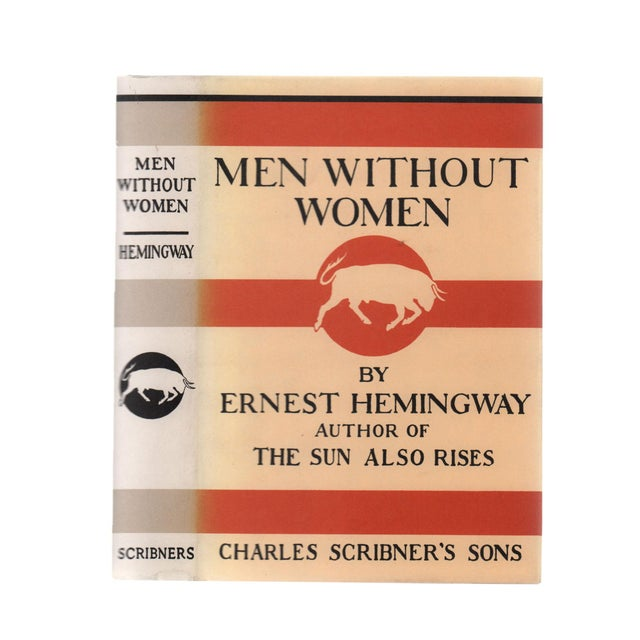 "1990s 1991 ""Facsimilie First Edition, Men Without Women"" Collectible Book For Sale - Image 5 of 5"